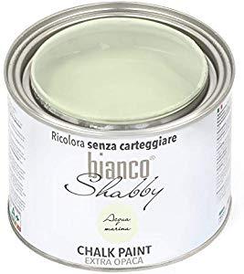 bianco Shabby CHALK PAINT Acqua Marina Pittura Shabby Chic ...